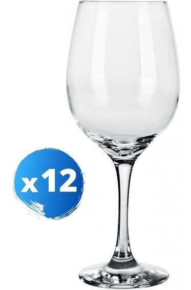 Copa Alta Vino-agua Estilo Barone - 490 Ml - X 12 Unidades
