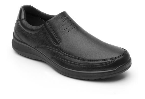 Zapato Cerrado Oficina Caballero 50808 Flexi Negro