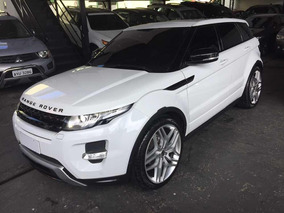 Land Rover Evoque 2.0 Si4 Dynamic 5p 2013 Branco Com Teto