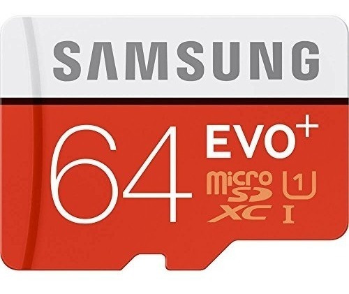 Cartão Micro Samsung Evo Plus 100mb/s 4k 64gb Frete Gratis