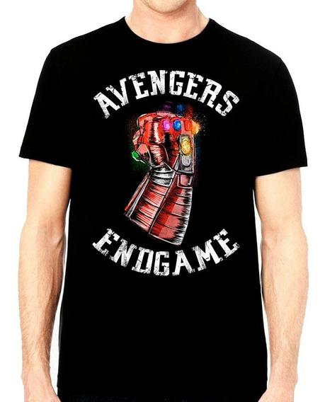 Playera Iron Man Guante Gemas Infinito Avengers Endgame $250