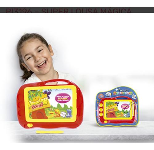 Super Lousa Mágica - Lousinha Magnética Infantil