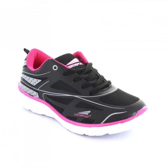 Tenis Para Mujer Catapult 11114-048136 Color Negro