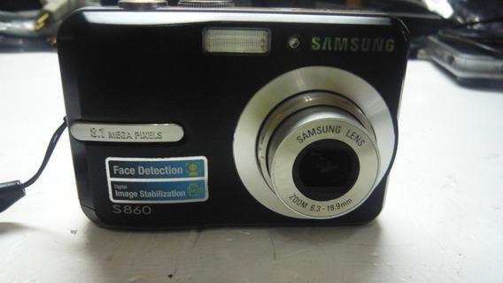 Câmera Samsung S860 8.1 Megapixels Defeito No Botão Zoom!!!