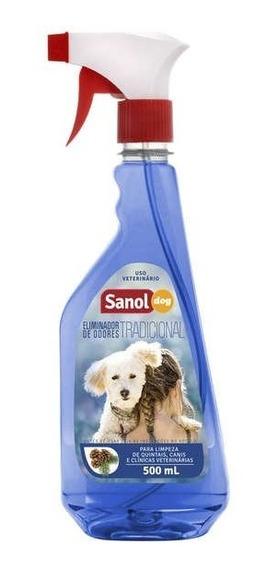 Eliminador De Odores Sanol Dog Tradicional Em Spray - 500 Ml