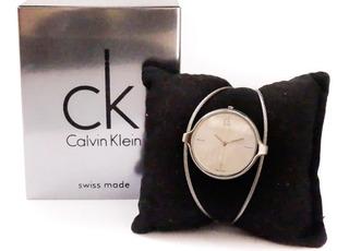 Reloj Calvin Klein Swiss Lady K2z2m116 Acero Nuevos Gtia Of