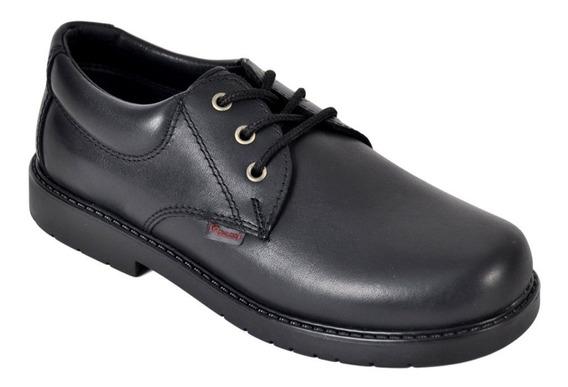 Zapato Colegial Cordón Nene/nena Cuero Marcel Art201c 34al40