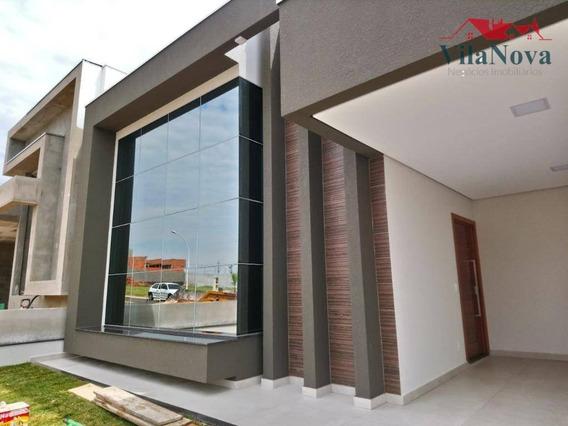Casa Com 3 Suites À Venda, 180 M² Por R$ 890.000 - Jardim Residencial Dona Lucilla - Indaiatuba/sp - Ca1273