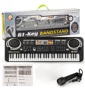61 Teclados Teclados Eléctricos Piano Teclado Música En Vent