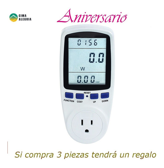 Watt Monitor Vatímetro Digital Watt Monitor Ee.uu.
