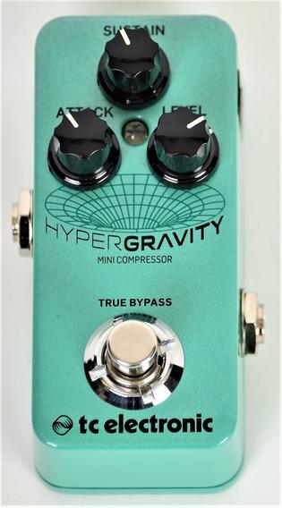 Tc Electroinic Hypergravity Mini Compressor Pedal Guitarra