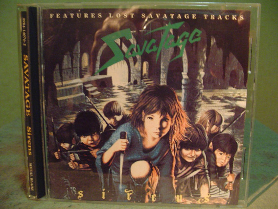Savatage Sirens W/bonus Made In Usa