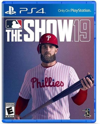 Ps4 Mlb The Show 19 / Baseball Fisico