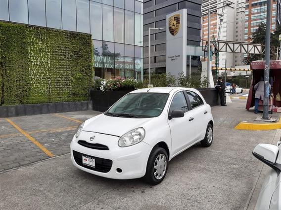 Nissan March 2018 Estándar 4cilindros Bolsas Aire Frenos Abs