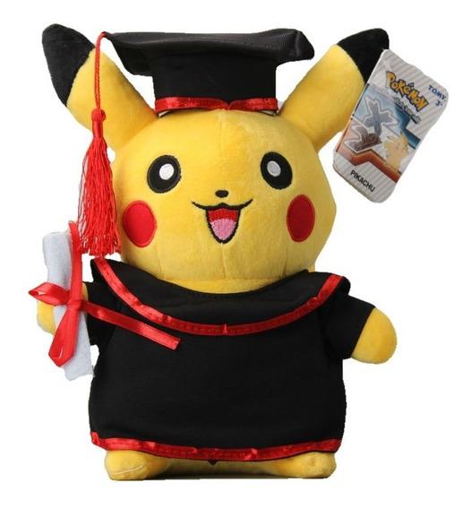 Nuevo Graduacion Pikachu Graduado Pokemon Cosplay Peluche