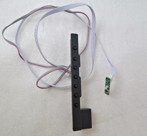 Kit Cabo Flat Alto Falante Sensor Botão Ir Philco Ph40u16dsg