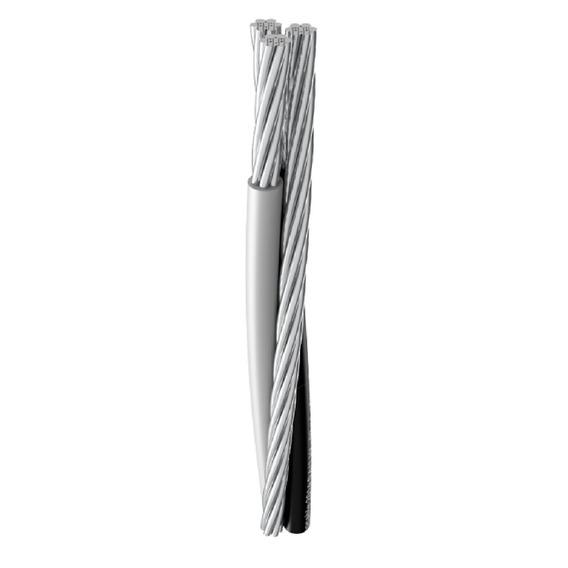 50m Fio Cabo Multiplex Alumínio Triplex 16mm (2+1)