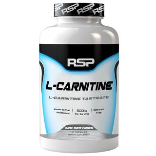 L-carnitine Rsp 120cáp Importado Nutrex Muscletech Cellucor