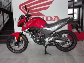 Cb 160 F Invicta Año 2018 Color Rojo Nuva Honda