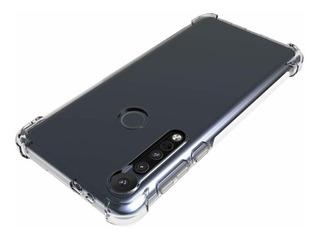 Kit Capa Moto G8 Plus + Película 3d Vidro Tela Toda