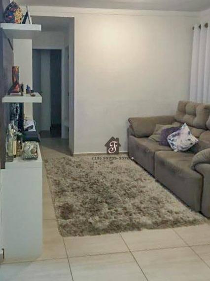 Apartamento Com 2 Dormitórios À Venda, 59 M² Por R$ 390.000,00 - Jardim Chapadão - Campinas/sp - Ap1533