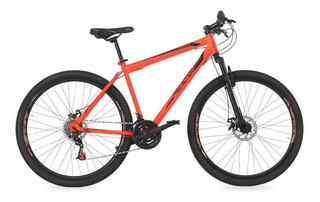 Bicicleta Free Action Flexus 2.0 Aro 29 21v Laranja/preto