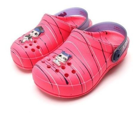 Crocs Grendene Lol Rosa 21891