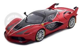 Ferrari Fxx K Edição Especial Vermelha Burago 1/18