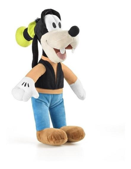 Boneco De Pelucia Mickey Minie Pateta Disney Com Som 22cm