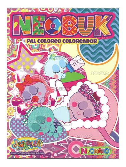 Libros Colorear Neonato Neobuk Distroller 16 Paginas