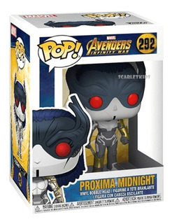 Funko Pop Proxima Midnight 292 Orig Avengers Infinite War