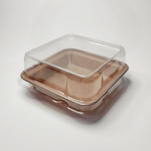 Embalagem Forneável Brownie P Com Tampa  Pacote Com 50 Unid