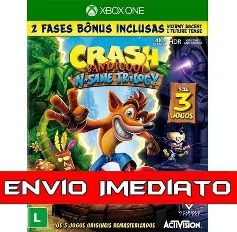 Crash Bandicoot Xbox One Midia Digital Crash