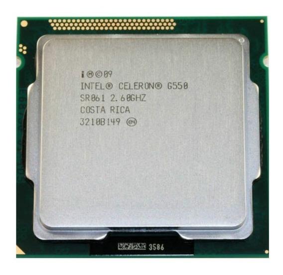 Processador1155 Intel Celeron Dual Core G550 2.60ghz+gd 900