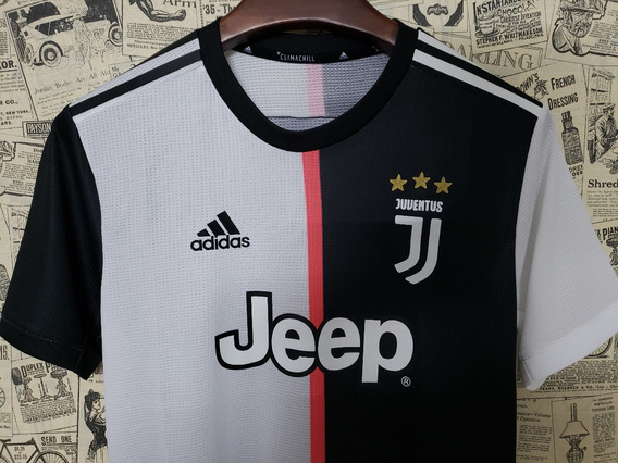 Camiseta Juventus 19-20, Versão Player, C. Ronaldo Nº 7 Cr7