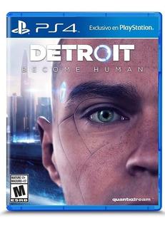 Detroit Become Human Ps4 Nuevo Juegos Ya!