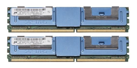 Dell 8gb (2x4gb) Pc2-5300f Pe 1900 1950 2900 2950 Precision