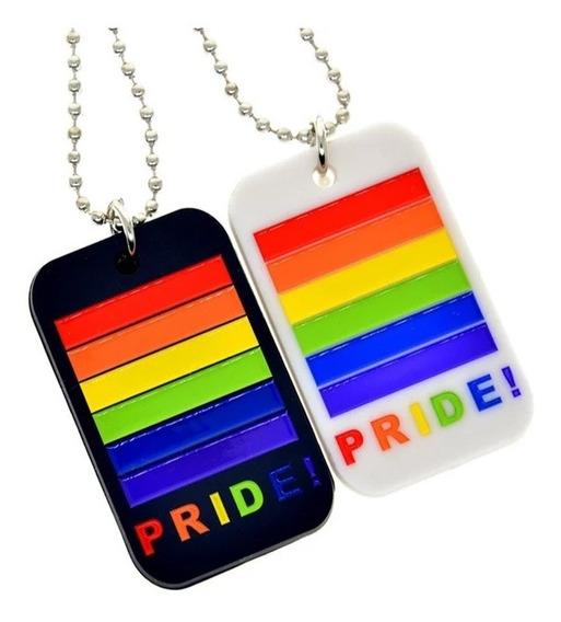 Colar Pride Orgulho Lgbt