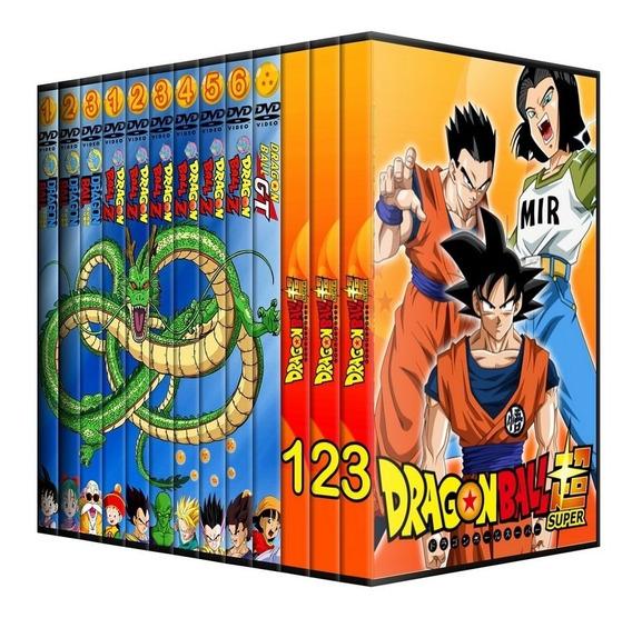 Dvds Dragon Ball, Dbz, Dbgt, Db Super + Filmes