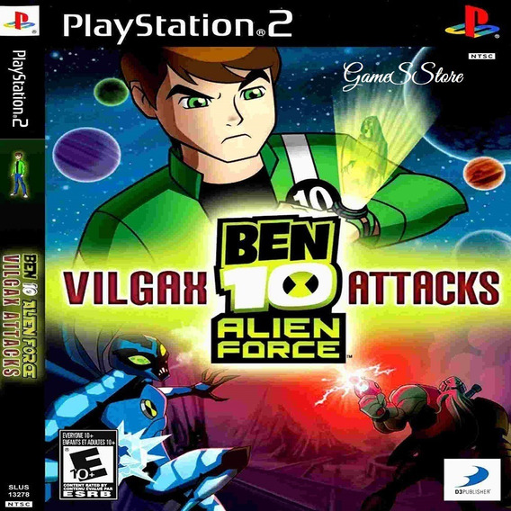 Ben 10 Vilgax Atack Ps2 Desbloqueado Patch