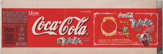 Antigua Etiqueta * Coca Cola * Promo Hielocos - Año 1996