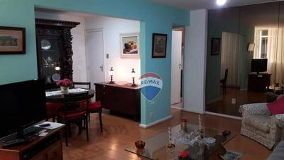 Apartamento Residencial À Venda, Copacabana, Rio De Janeiro. - Ap0042