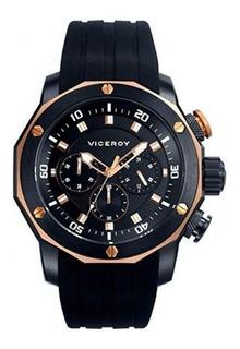 Reloj Hombre Viceroy 47739-97 Cronografo Acero Sumergible