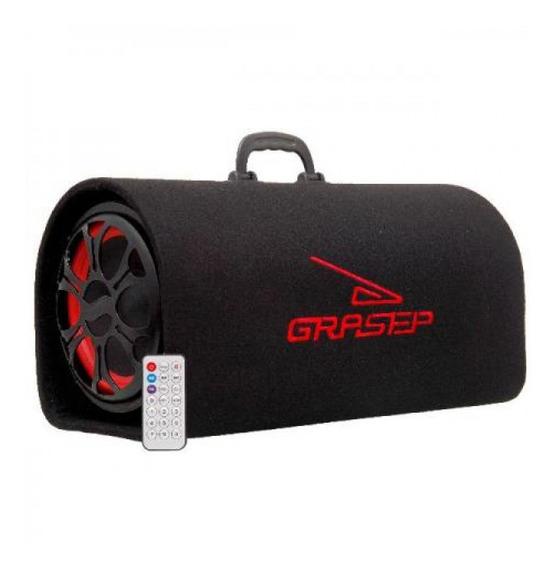 Caixa Som Grasep Bt/microsd/usb/radio/mic Preto D-bh2201