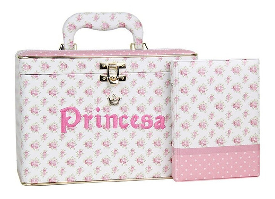 Álbum Maleta Luxo Menina Princesa 600 Fotos - 10x15
