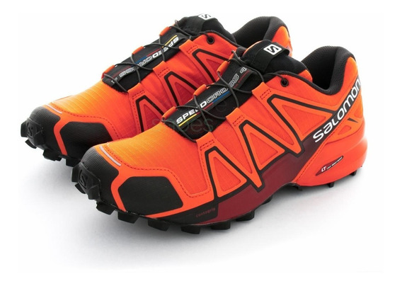 Zapatilla Salomon  speedcross 4 M/flame Original 17893,94,99