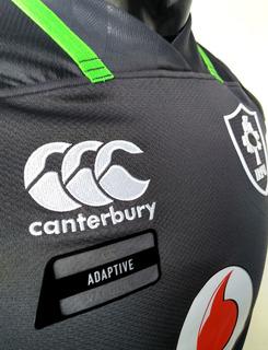 Camiseta Canterbury De Irlanda Suplente