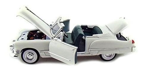 Miniatura Carro Lucky Cadillac Coupe De Ville 1949 Escala 1/
