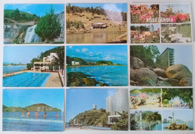 Lote De 14 Cartões Postais Antigos Sem Uso Cidades São Paulo