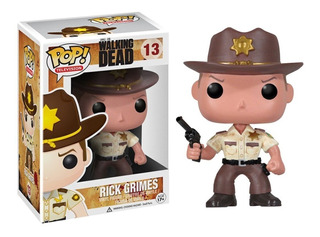 Funko Pop Rick Grimes 13 The Walking Dead Muñeco Original